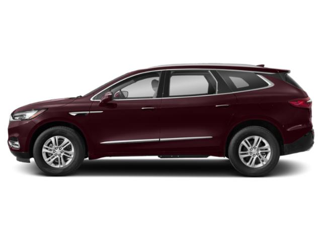 Black Cherry Metallic 2019 Buick Enclave Pictures Enclave AWD 4dr Essence photos side view
