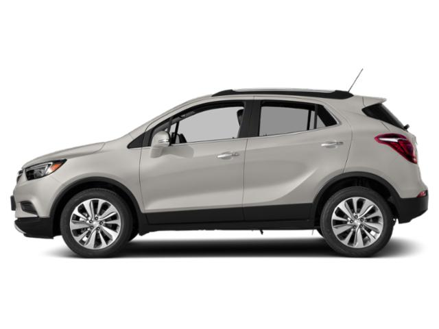 White Frost Tricoat 2019 Buick Encore Pictures Encore FWD 4dr Sport Touring photos side view