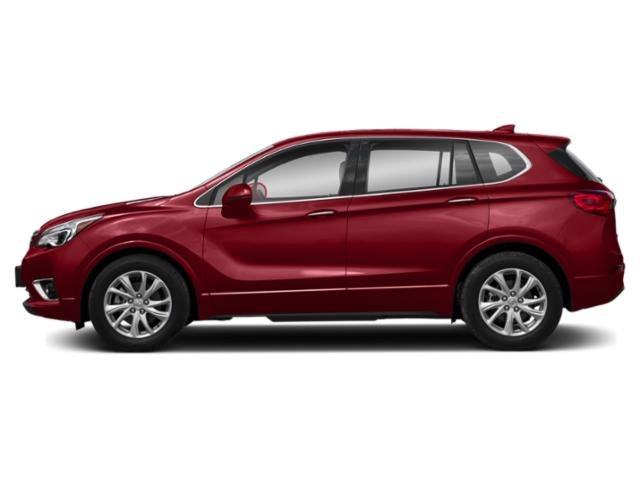 Chili Red Metallic 2019 Buick Envision Pictures Envision AWD 4dr Premium II photos side view