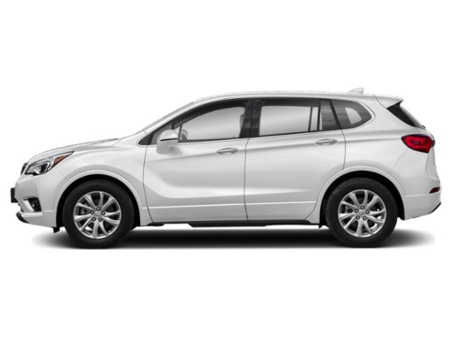 Summit White 2019 Buick Envision Pictures Envision AWD 4dr Premium II photos side view
