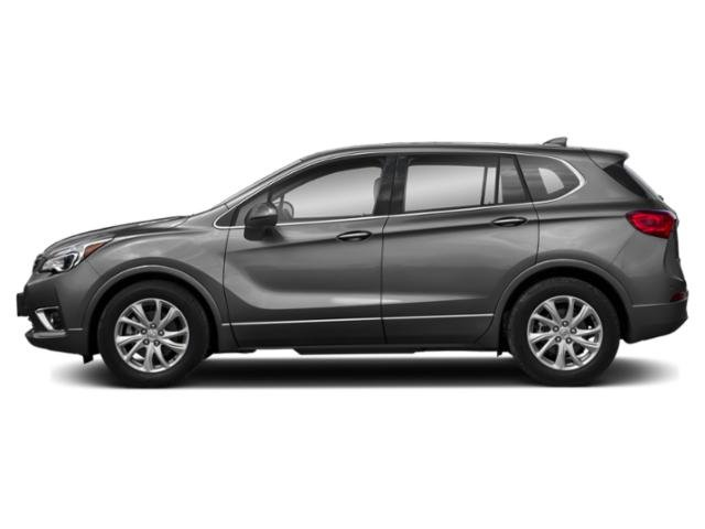 Satin Steel Metallic 2019 Buick Envision Pictures Envision AWD 4dr Preferred photos side view