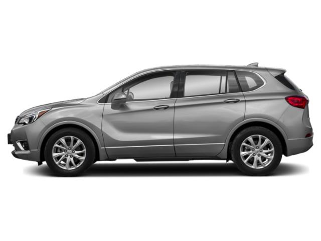 Galaxy Silver Metallic 2019 Buick Envision Pictures Envision AWD 4dr Premium II photos side view