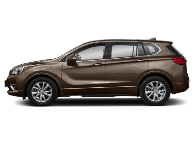Bronze Alloy Metallic 2019 Buick Envision Pictures Envision AWD 4dr Preferred photos side view