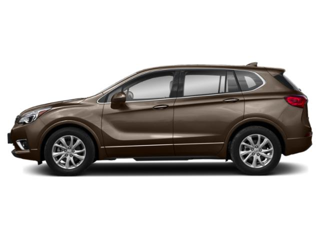 Bronze Alloy Metallic 2019 Buick Envision Pictures Envision AWD 4dr Premium II photos side view