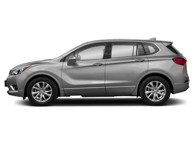 Galaxy Silver Metallic 2019 Buick Envision Pictures Envision FWD 4dr Essence photos side view