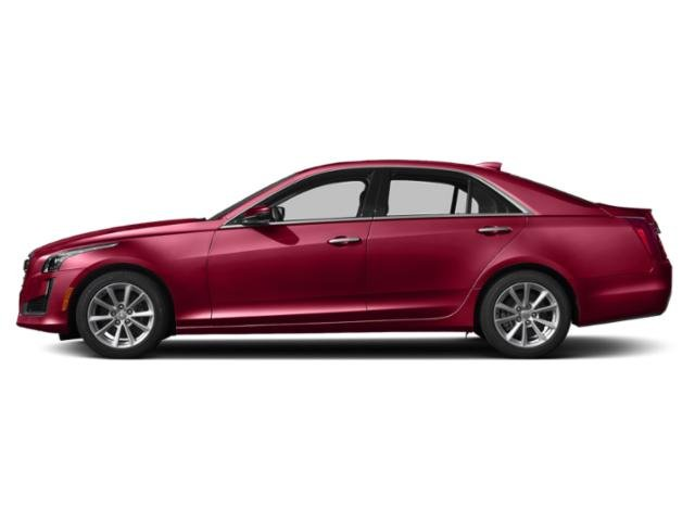Red Obsession Tintcoat 2019 Cadillac CTS Sedan Pictures CTS Sedan 4dr Sdn 2.0L Turbo Luxury RWD photos side view