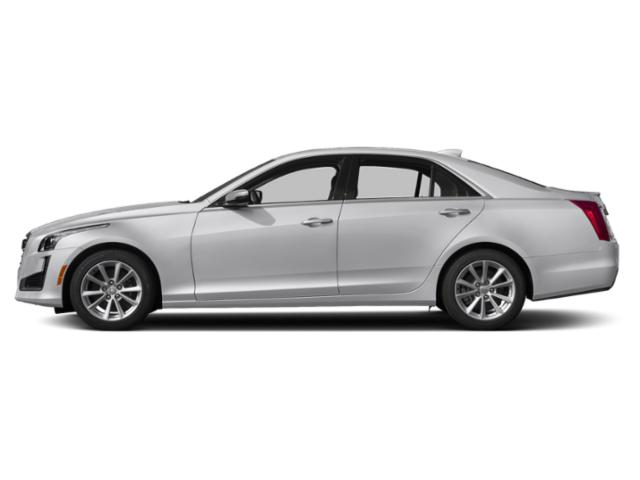 Radiant Silver Metallic 2019 Cadillac CTS Sedan Pictures CTS Sedan 4dr Sdn 2.0L Turbo Luxury RWD photos side view