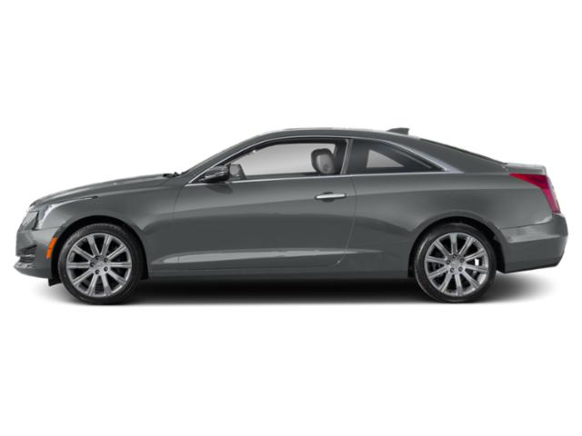Satin Steel Metallic 2019 Cadillac ATS Coupe Pictures ATS Coupe 2dr Cpe 3.6L Premium Luxury AWD photos side view