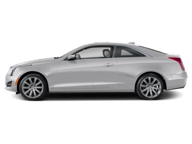 Radiant Silver Metallic 2019 Cadillac ATS Coupe Pictures ATS Coupe 2dr Cpe 3.6L Premium Luxury AWD photos side view
