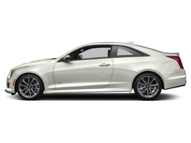 Crystal White Tricoat 2019 Cadillac ATS-V Coupe Pictures ATS-V Coupe 2dr Cpe photos side view