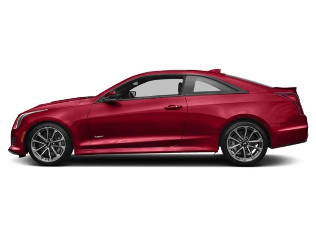 Velocity Red 2019 Cadillac ATS-V Coupe Pictures ATS-V Coupe 2dr Cpe photos side view
