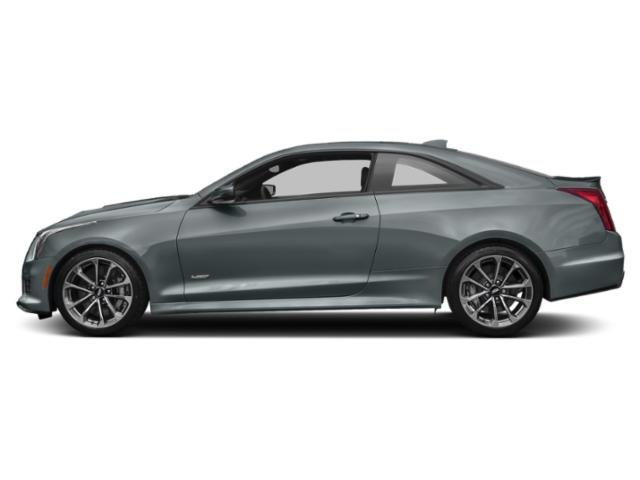 Satin Steel Metallic 2019 Cadillac ATS-V Coupe Pictures ATS-V Coupe 2dr Cpe photos side view