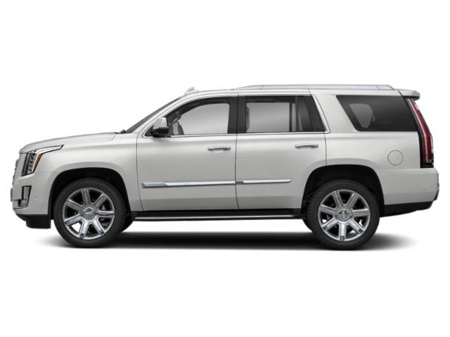 Crystal White Tricoat 2019 Cadillac Escalade Pictures Escalade 4WD 4dr Luxury photos side view