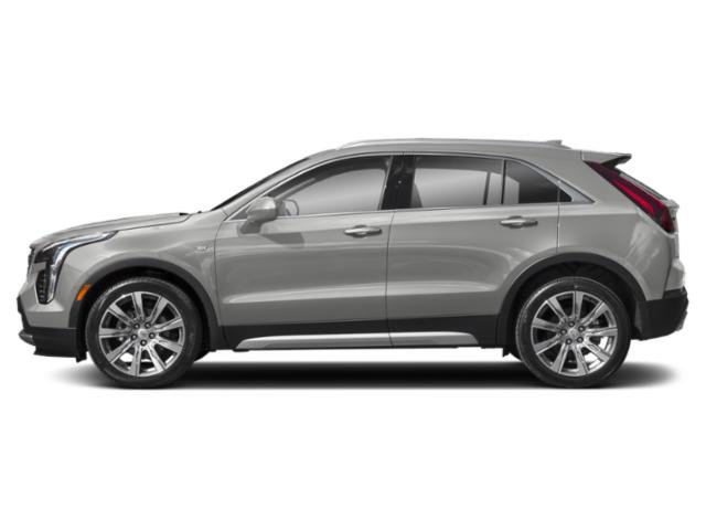Radiant Silver Metallic 2019 Cadillac XT4 Pictures XT4 AWD 4dr Luxury photos side view