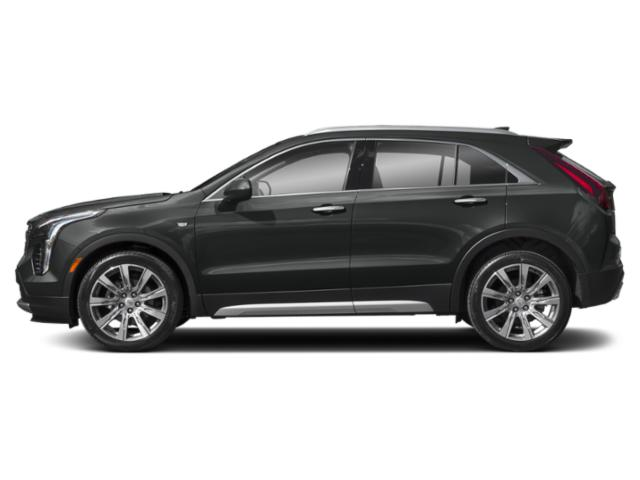 Shadow Metallic 2019 Cadillac XT4 Pictures XT4 AWD 4dr Luxury photos side view