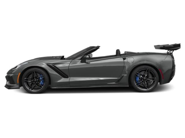 Shadow Gray Metallic 2019 Chevrolet Corvette Pictures Corvette 2dr ZR1 Conv w/1ZR photos side view