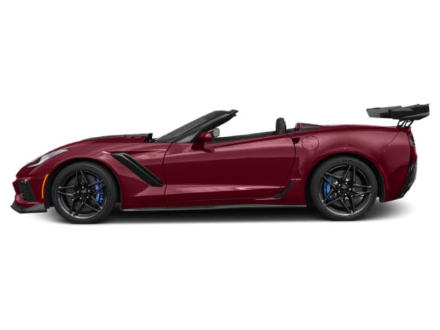 Long Beach Red Metallic Tintcoat 2019 Chevrolet Corvette Pictures Corvette 2dr ZR1 Conv w/1ZR photos side view