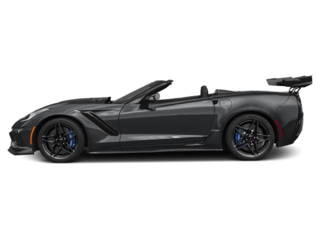 Watkins Glen Gray Metallic 2019 Chevrolet Corvette Pictures Corvette 2dr ZR1 Conv w/1ZR photos side view