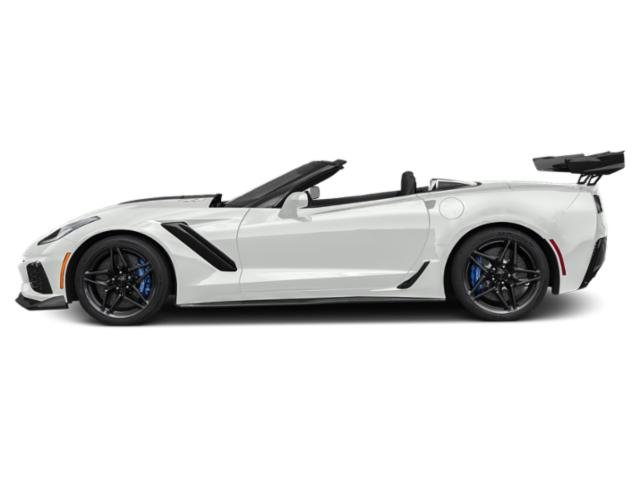 Arctic White 2019 Chevrolet Corvette Pictures Corvette 2dr ZR1 Conv w/1ZR photos side view