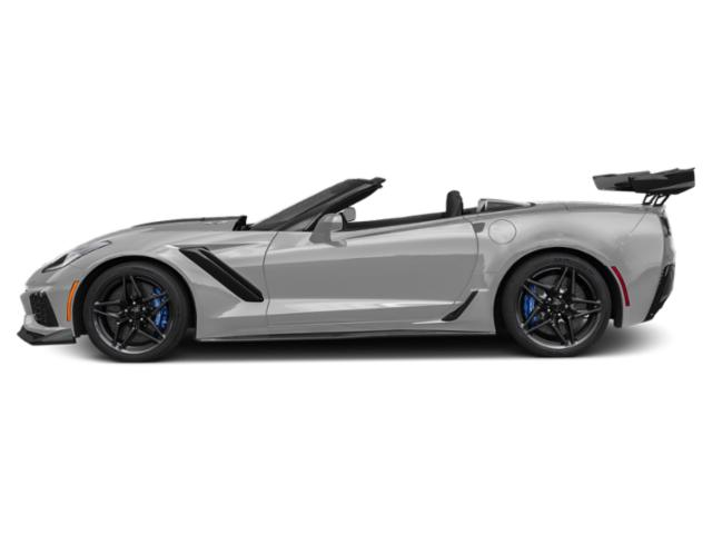 Ceramic Matrix Gray Metallic 2019 Chevrolet Corvette Pictures Corvette 2dr ZR1 Conv w/1ZR photos side view
