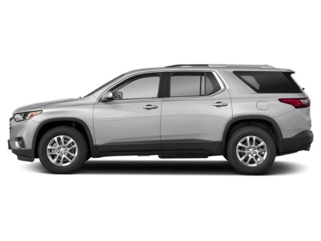 Silver Ice Metallic 2019 Chevrolet Traverse Pictures Traverse AWD 4dr LT Cloth w/1LT photos side view