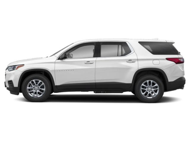 Summit White 2019 Chevrolet Traverse Pictures Traverse AWD 4dr LT Cloth w/1LT photos side view
