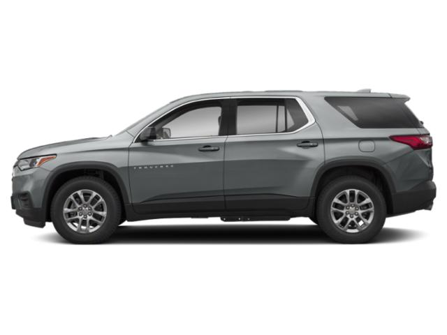 Satin Steel Metallic 2019 Chevrolet Traverse Pictures Traverse AWD 4dr LS w/1LS photos side view