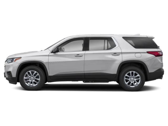 Silver Ice Metallic 2019 Chevrolet Traverse Pictures Traverse FWD 4dr LS w/1FL photos side view