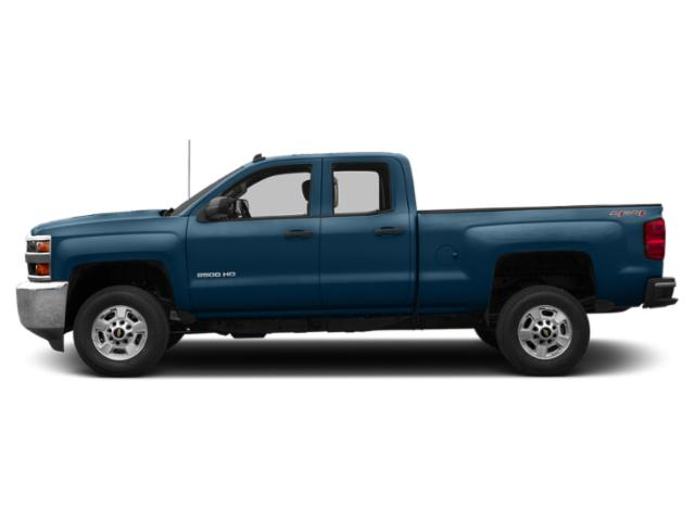 Deep Ocean Blue Metallic 2019 Chevrolet Silverado 2500HD Pictures Silverado 2500HD 4WD Double Cab 158.1 Work Truck photos side view
