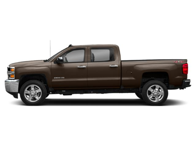 Havana Brown Metallic 2019 Chevrolet Silverado 2500HD Pictures Silverado 2500HD 4WD Double Cab 158.1 Work Truck photos side view