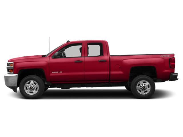 Red Hot 2019 Chevrolet Silverado 2500HD Pictures Silverado 2500HD 4WD Double Cab 158.1 Work Truck photos side view
