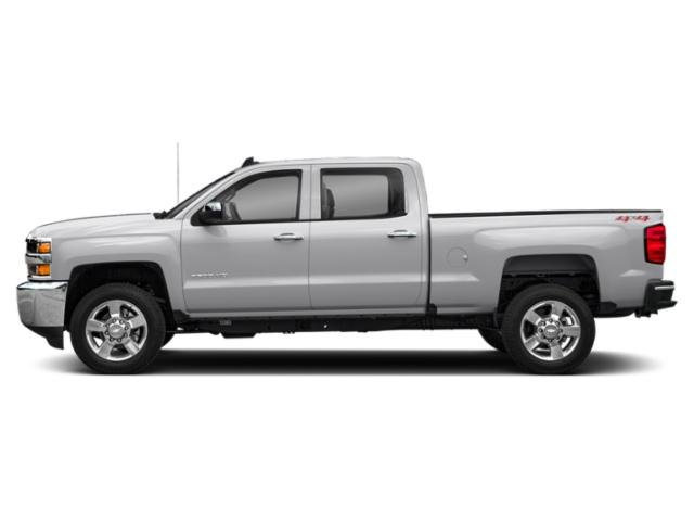 Silver Ice Metallic 2019 Chevrolet Silverado 2500HD Pictures Silverado 2500HD 4WD Double Cab 158.1 Work Truck photos side view