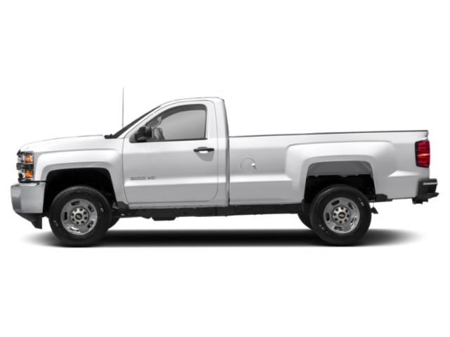 Summit White 2019 Chevrolet Silverado 2500HD Pictures Silverado 2500HD 4WD Double Cab 158.1 Work Truck photos side view
