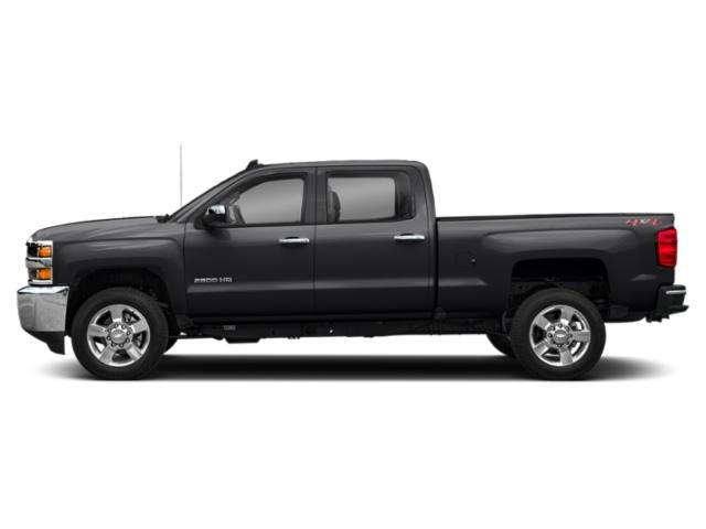 Mosaic Black Metallic 2019 Chevrolet Silverado 2500HD Pictures Silverado 2500HD 2WD Crew Cab 153.7 LT photos side view