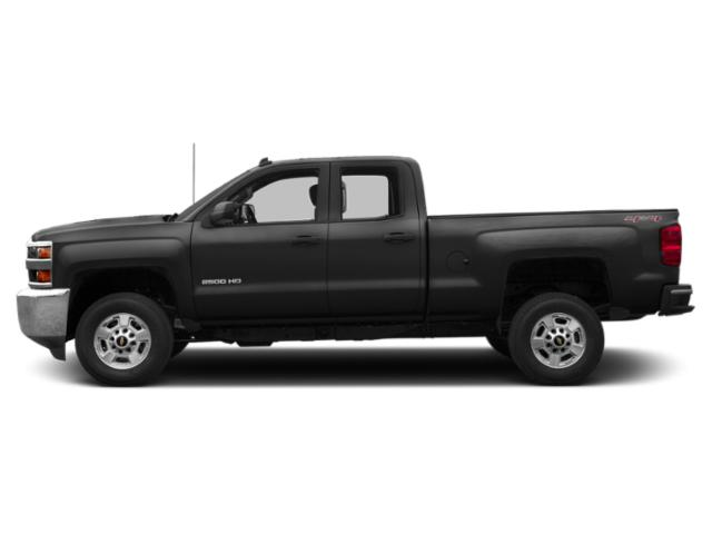 Black 2019 Chevrolet Silverado 2500HD Pictures Silverado 2500HD 4WD Double Cab 158.1 Work Truck photos side view