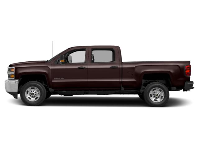 Havana Brown Metallic 2019 Chevrolet Silverado 2500HD Pictures Silverado 2500HD 2WD Crew Cab 153.7 LT photos side view