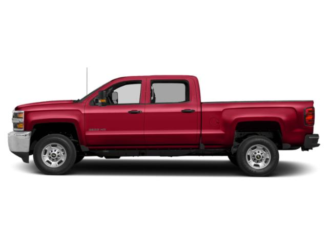 Red Hot 2019 Chevrolet Silverado 2500HD Pictures Silverado 2500HD 2WD Crew Cab 153.7 LT photos side view