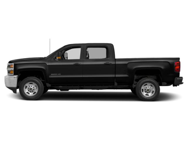 Black 2019 Chevrolet Silverado 2500HD Pictures Silverado 2500HD 2WD Crew Cab 153.7 LT photos side view