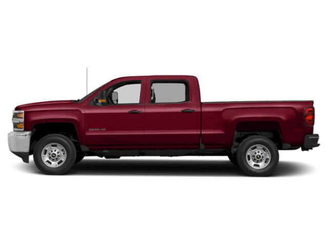 Cajun Red Tintcoat 2019 Chevrolet Silverado 2500HD Pictures Silverado 2500HD 2WD Crew Cab 153.7 LT photos side view