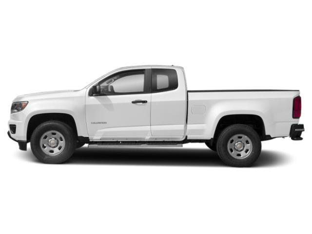 Summit White 2019 Chevrolet Colorado Pictures Colorado 2WD Ext Cab 128.3 Base photos side view