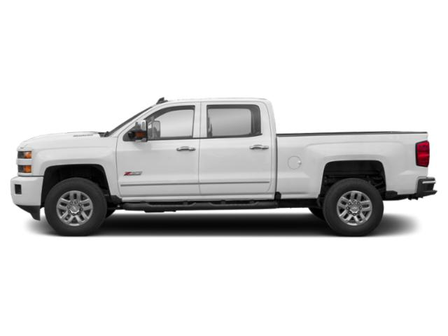Summit White 2019 Chevrolet Silverado 3500HD Pictures Silverado 3500HD 4WD Crew Cab 153.7 Work Truck photos side view