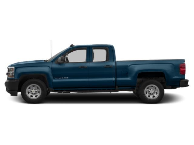 Deep Ocean Blue Metallic 2019 Chevrolet Silverado 1500 LD Pictures Silverado 1500 LD 2WD Double Cab Work Truck photos side view