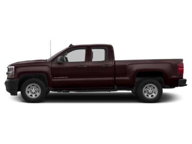 Havana Brown Metallic 2019 Chevrolet Silverado 1500 LD Pictures Silverado 1500 LD 2WD Double Cab Work Truck photos side view