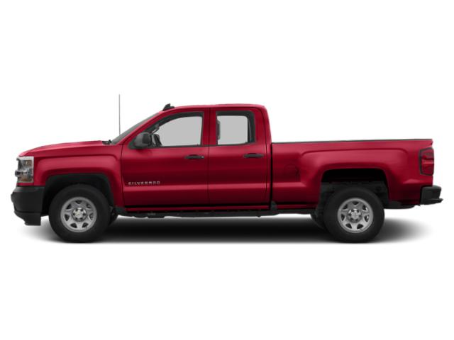 Red Hot 2019 Chevrolet Silverado 1500 LD Pictures Silverado 1500 LD 2WD Double Cab Work Truck photos side view