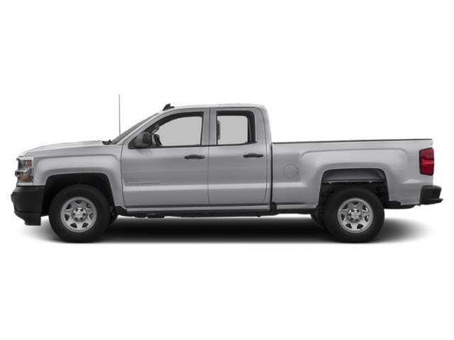 Silver Ice Metallic 2019 Chevrolet Silverado 1500 LD Pictures Silverado 1500 LD 2WD Double Cab Work Truck photos side view