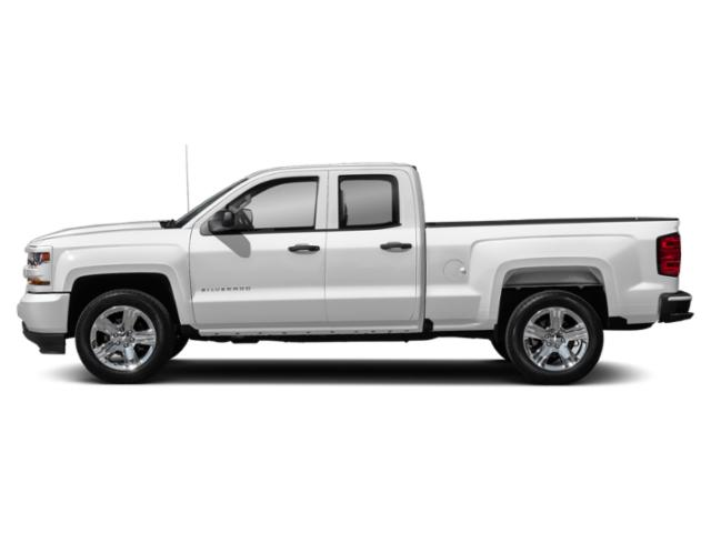 Summit White 2019 Chevrolet Silverado 1500 LD Pictures Silverado 1500 LD 2WD Double Cab Work Truck photos side view