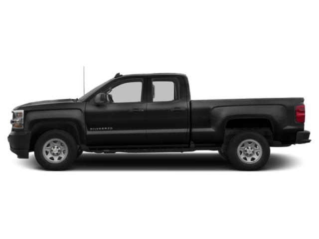 Black 2019 Chevrolet Silverado 1500 LD Pictures Silverado 1500 LD 2WD Double Cab Work Truck photos side view