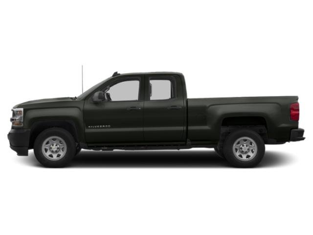Graphite Metallic 2019 Chevrolet Silverado 1500 LD Pictures Silverado 1500 LD 2WD Double Cab Work Truck photos side view