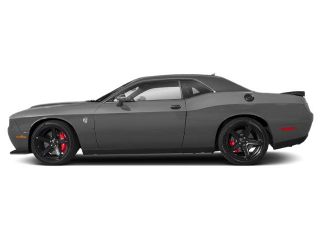 Destroyer Gray Clearcoat 2019 Dodge Challenger Pictures Challenger SRT Hellcat RWD photos side view