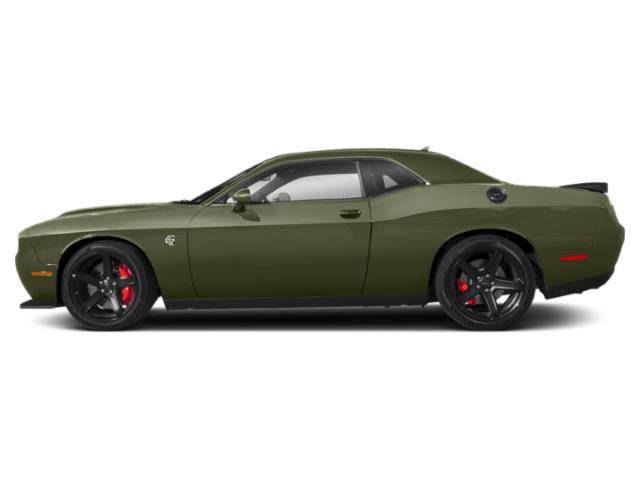 F8 Green 2019 Dodge Challenger Pictures Challenger SRT Hellcat RWD photos side view